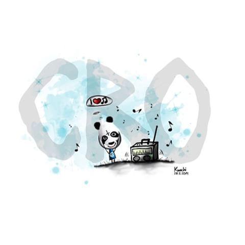 🎨 #Original Bild 😉 nochmal für alle 🐼 #Cro - #Fan 's ✌️ #sketch #sketchclub #creative #art #music #musik #carlowaibel #künstler #knochiart #picoftheday #weekend #sprüche #sprüche4you and #me #wochenende #chill #chillimilli #genießen #gefühl #gedanken 🙈✌️