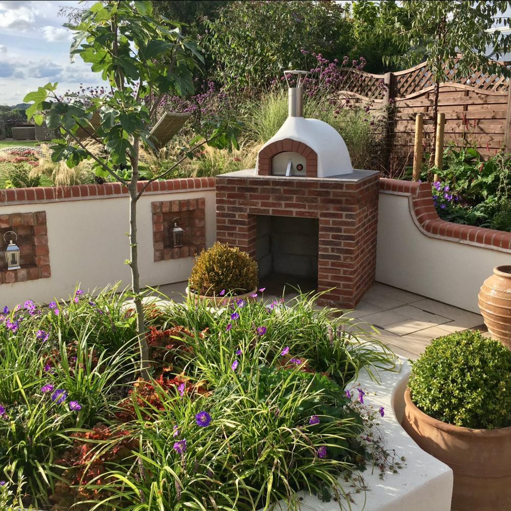Primo 9 - Isola Garden Design - The Stone Bake Oven Company