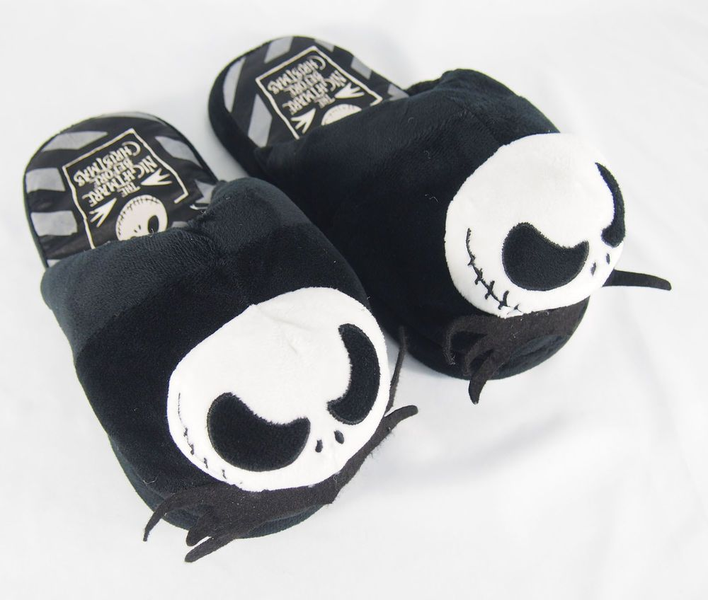 Jack Skellington Disney Nightmare Before Christmas Slippers Size M ...