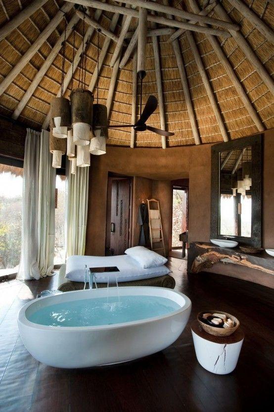 Vasca in camera da letto: 26 camere da letto con vasca ...