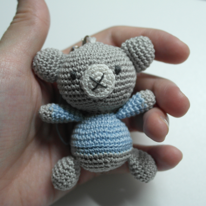 Make a Cute Crocheted Charm Amigurumi Bear
