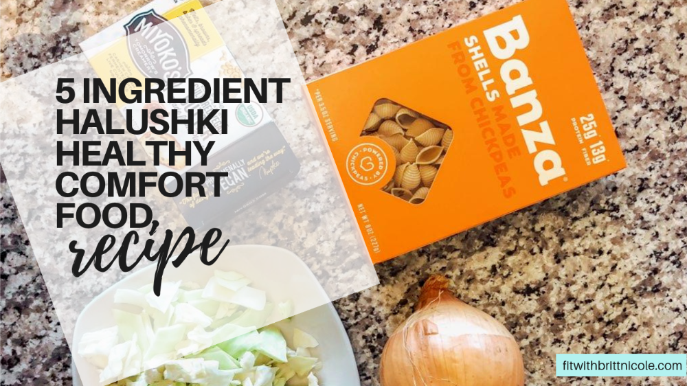 Photo of 5 Ingredient Halushki Healthy Comfort Food Recipe   Brittany Muchko