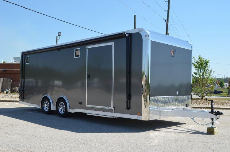 Build your next custom race car trailer at RPM Trailer