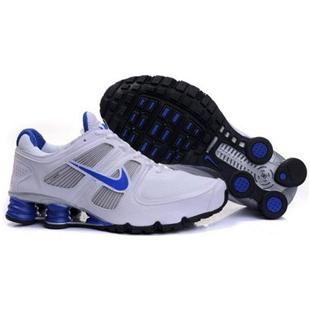 Nike Shox,Nike Shox Sale,Cheap Nike Shox Nike Shox 2011 Mens Running Shoe  White Blue - Nike shox 2011 mens running shoe white blue is built with  previous ...