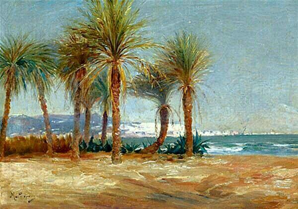 Peinture D Algerie Peintre Francais Marius Reynaud 1860 1935 Huile Sur Toile Titre La Baie D Alger V Peintre Francais Peinture Orientaliste Peinture