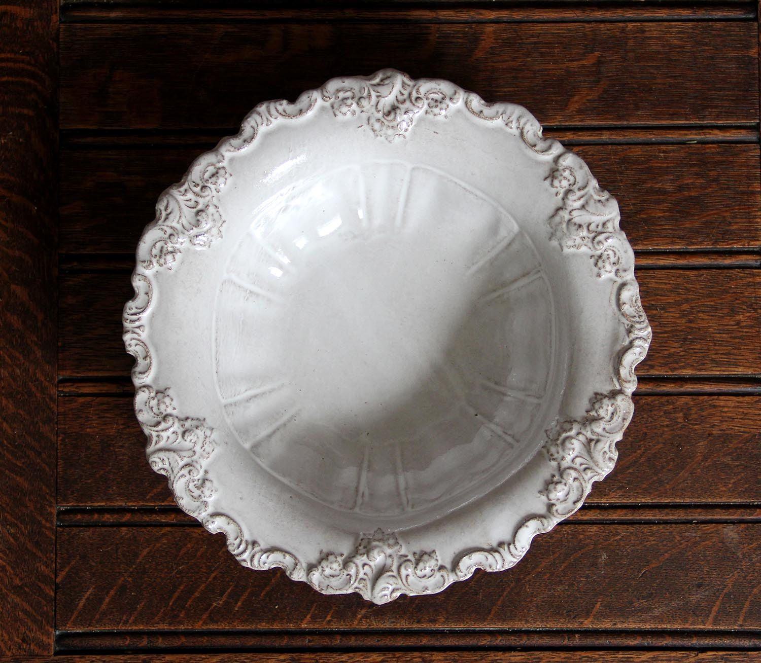 Baroque Side Serving Bowl French pottery, Serving bowls