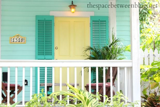 front door colors and using Key West front doors for inspiration ...