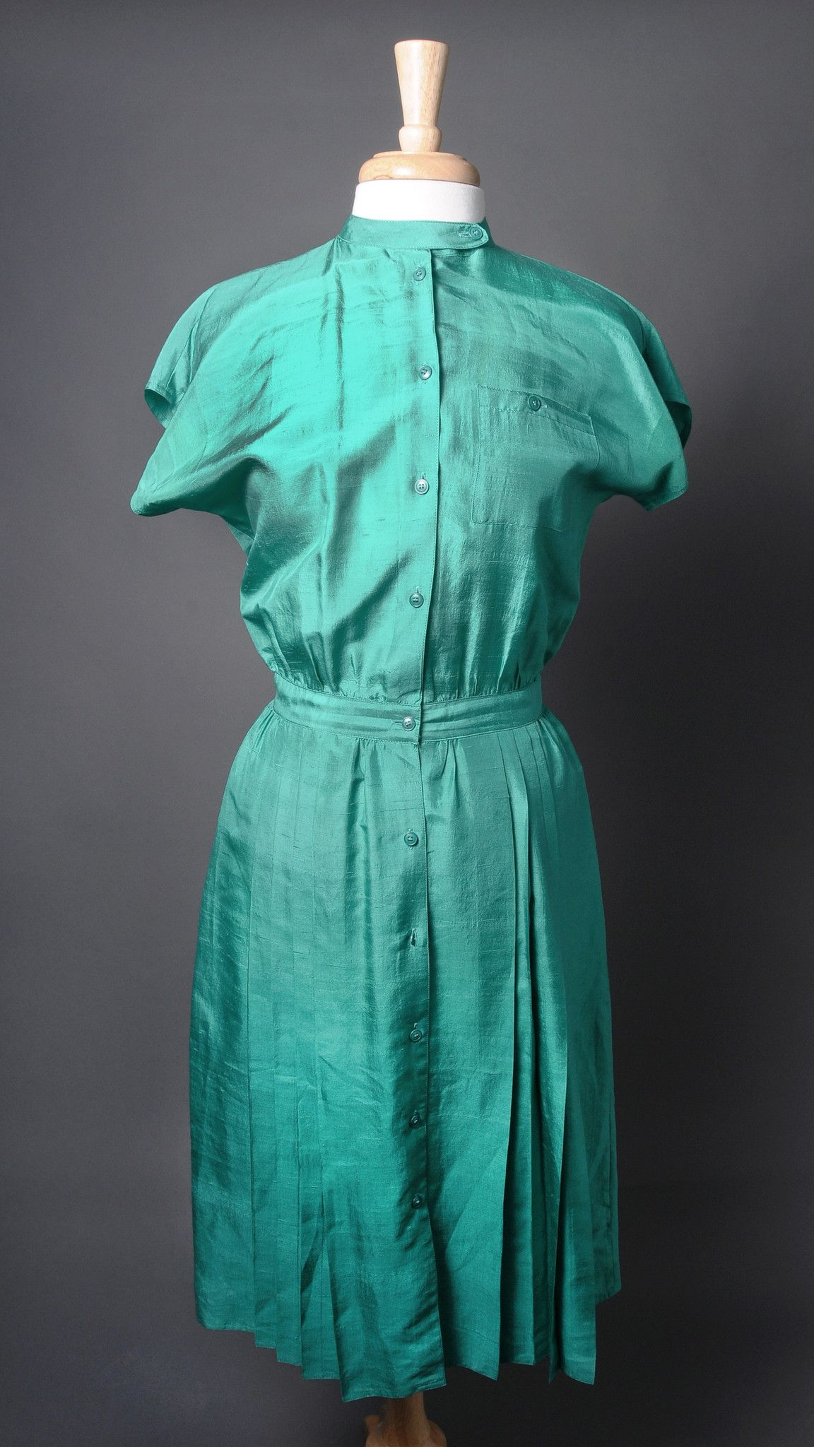 Maggy London Shamrock Green Daytime Dress