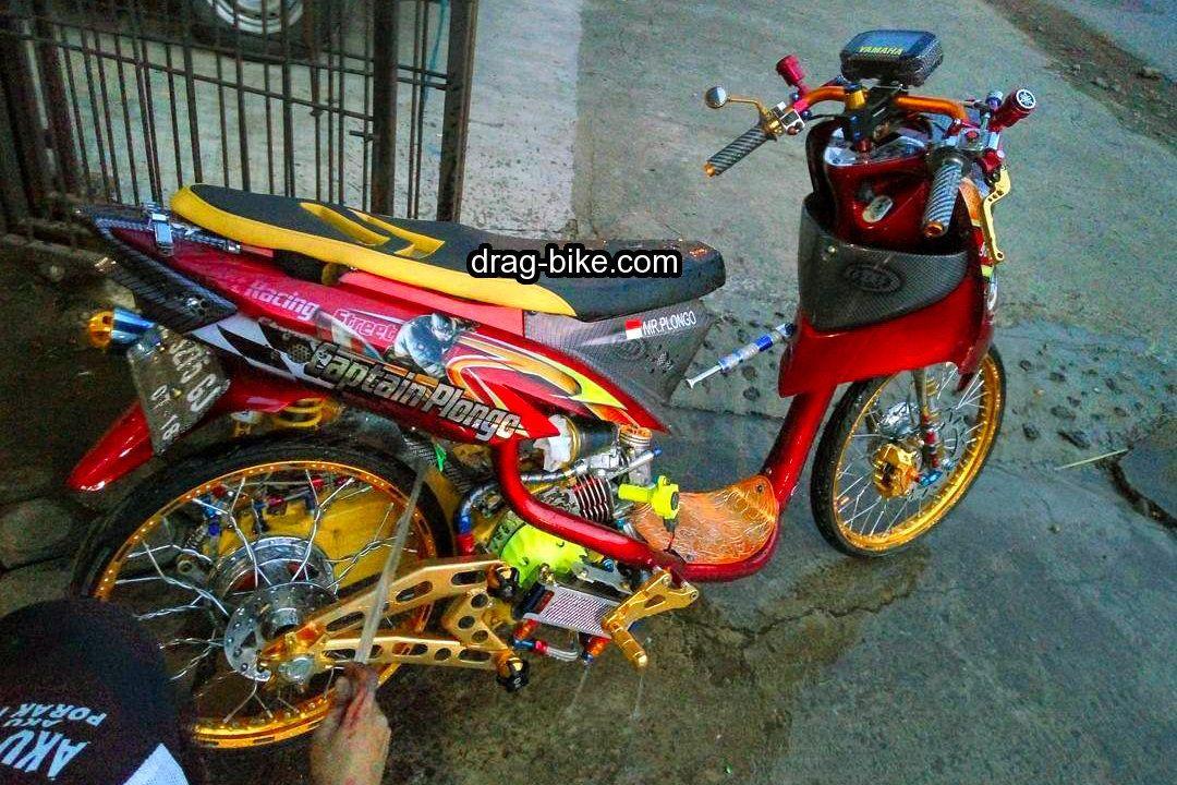 Modifikasi Mio Soul Street Racing Thailand Velg Airbrush