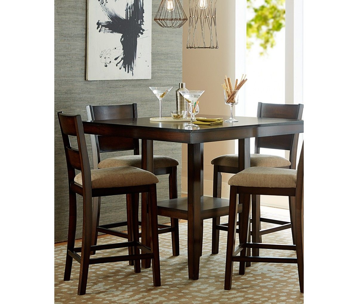 Macys Counter Height Dining Set