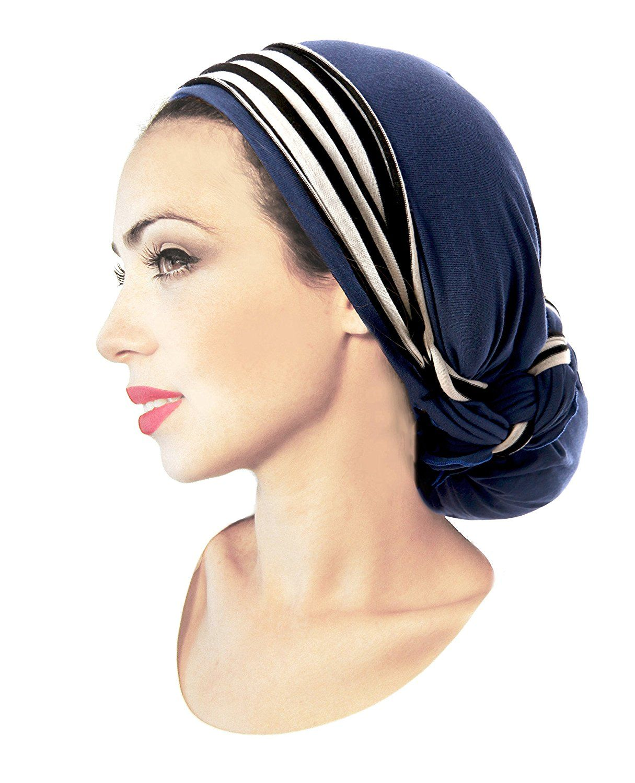 Fashionable beanie hair wrap head scarf who needs long