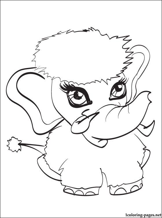 Shiver pet of Abbey Bominable Monster High | Coloring pages | 2 ...