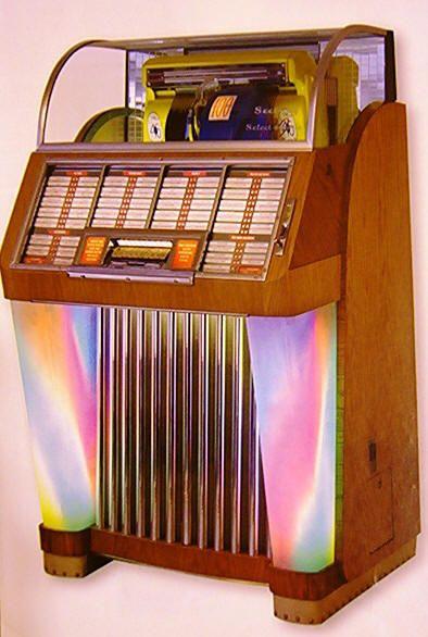 Seeburg 48ml Trashcan Jukebox