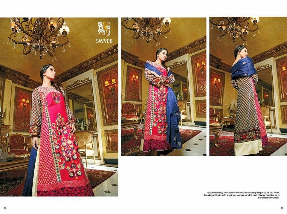 New And Stylish Winter Clothes For Girls 2014-2015 By Shaista