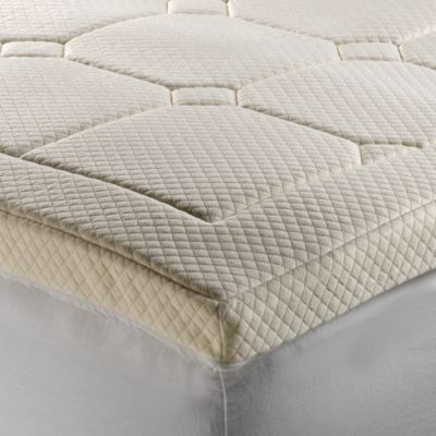Theic Deluxe 3 Inch Luxury Quilted Memory Foam Mattress Topper Bedbathandbeyond