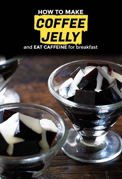 Coffee Jelly How To Make