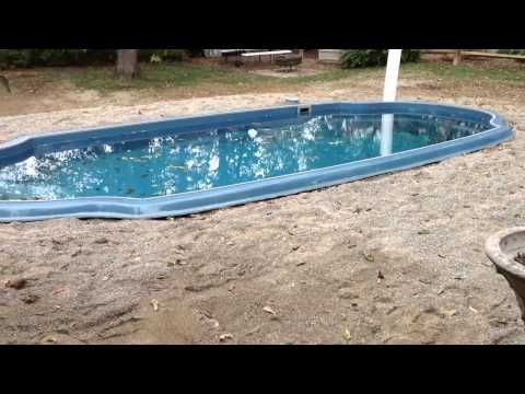 Dropping An Above Ground Pool In The Ground The Details Youtube Diy In Ground Pool Pool Installation Fiberglass Pools