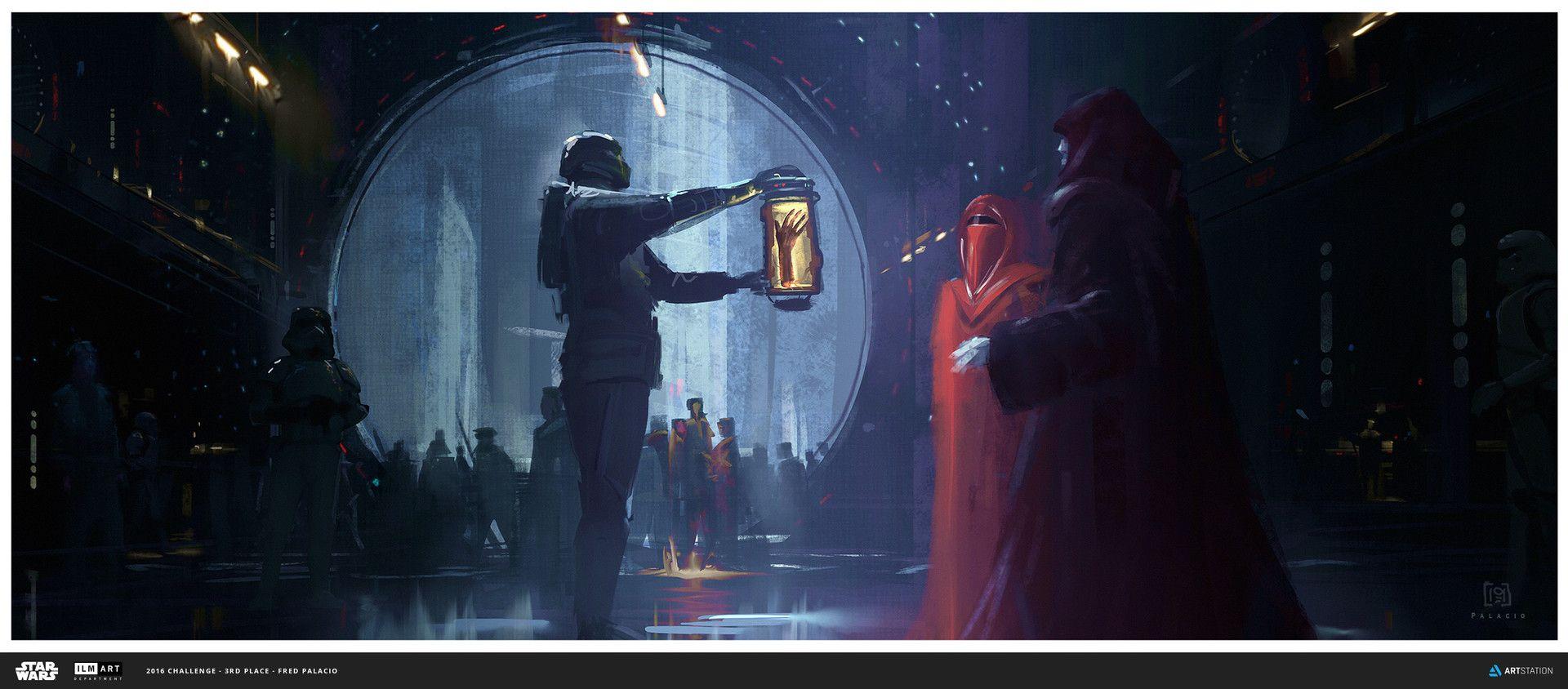 Artstation Ilm Art Department Challenge The Moment Fred Palacio Star Wars Art Star Wars Images Star Wars Concept Art