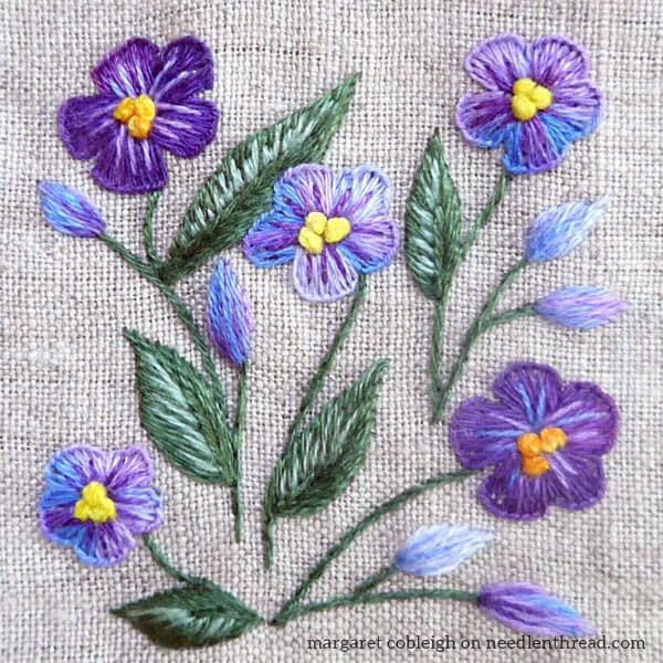 House Of Embroidery Threads Hand Embroidery Pinterest
