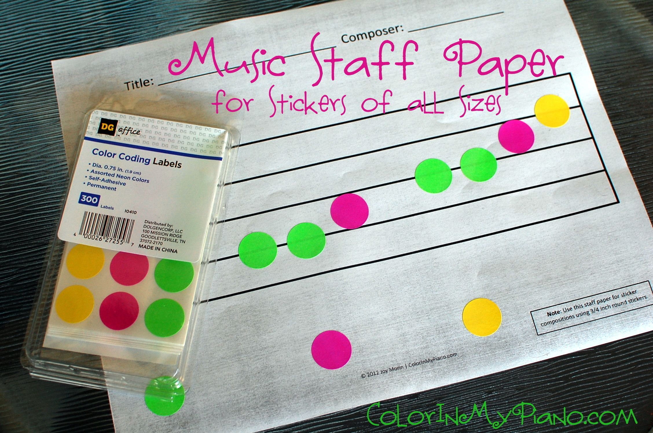Composing With Stickers