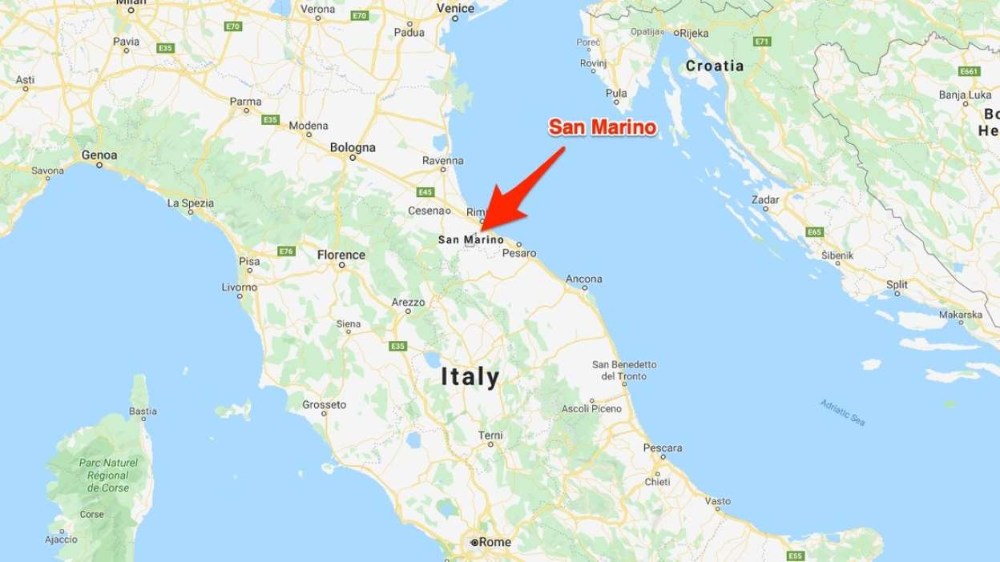 Entirely Inside Italy San Marino Is A Pretty Special Place For One It S The World S Oldest Democr Google Maps San Marino San Europe