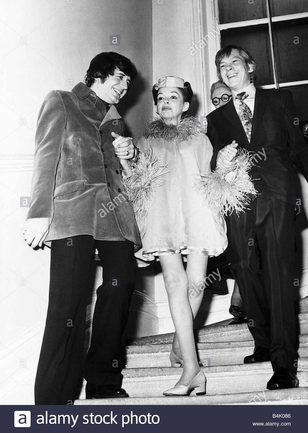 Judy Garland 5th And Last Marriage To Mickey Deans 1969 ...