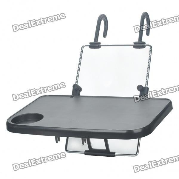 Multi Purpose Folding Auto Car Seat Mount Laptop Table Cup Holder
