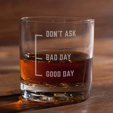 Photo of Don't Ask Whiskey Glass – Walmart.com