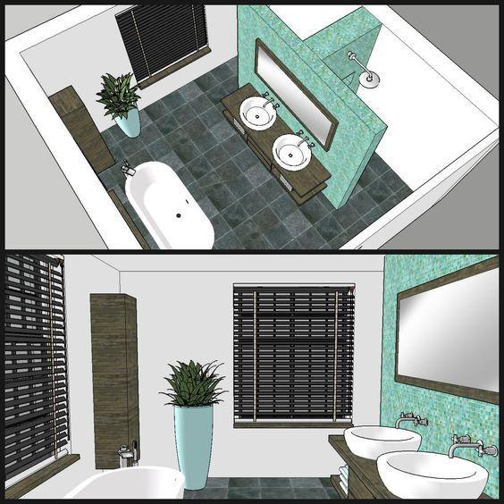 badkamer op zolder - Google zoeken | badkamer | Pinterest ...
