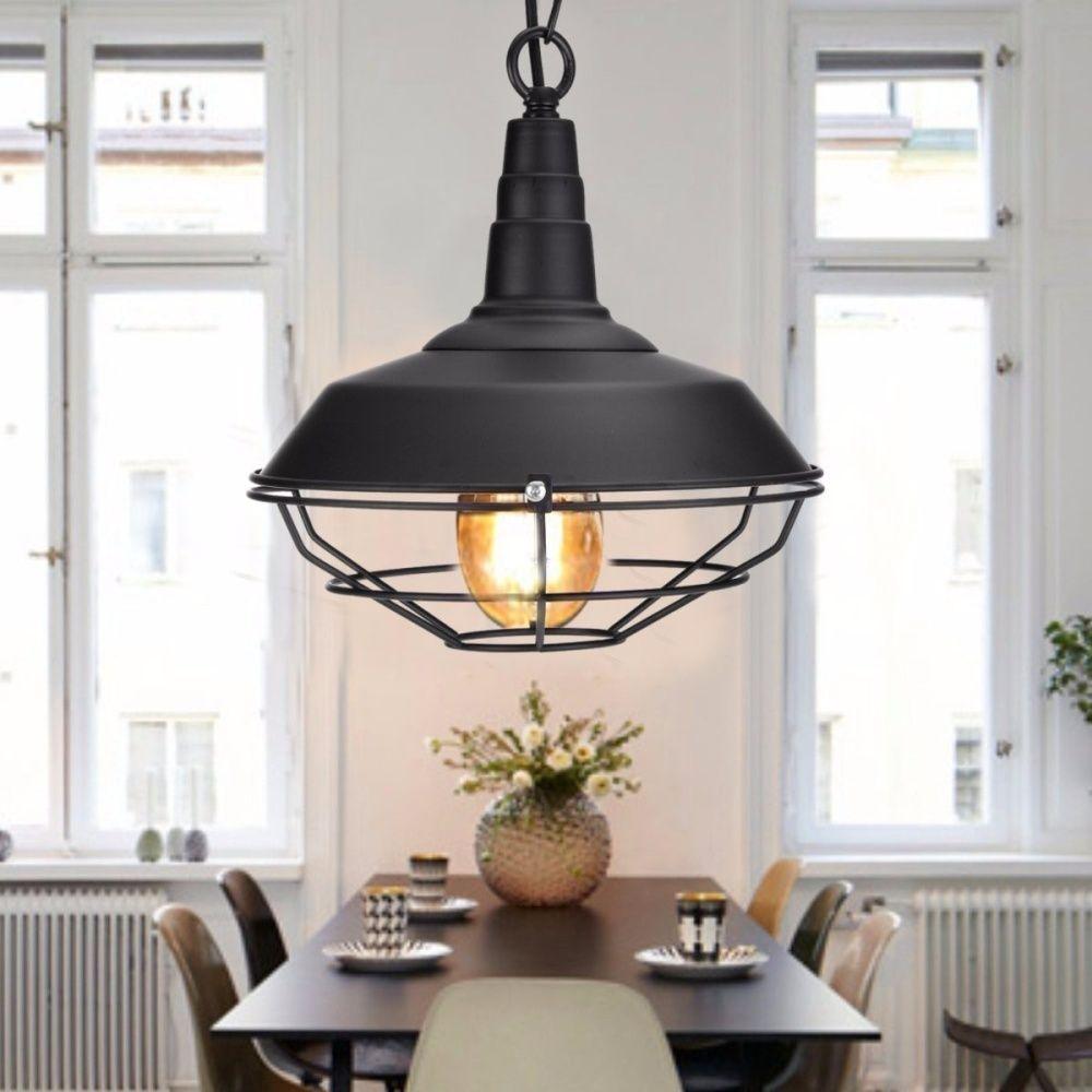 Fixture Ceiling Lamp Retro Industrial Vintage Pendant Light Decor Chandelier Black Lazada Singapore Vintage Pendant Lighting Pendant Light Light Decorations