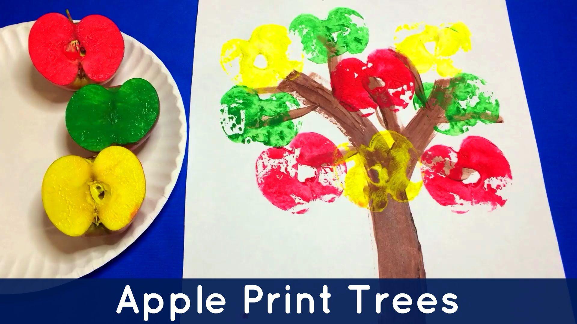 Apple Print Trees