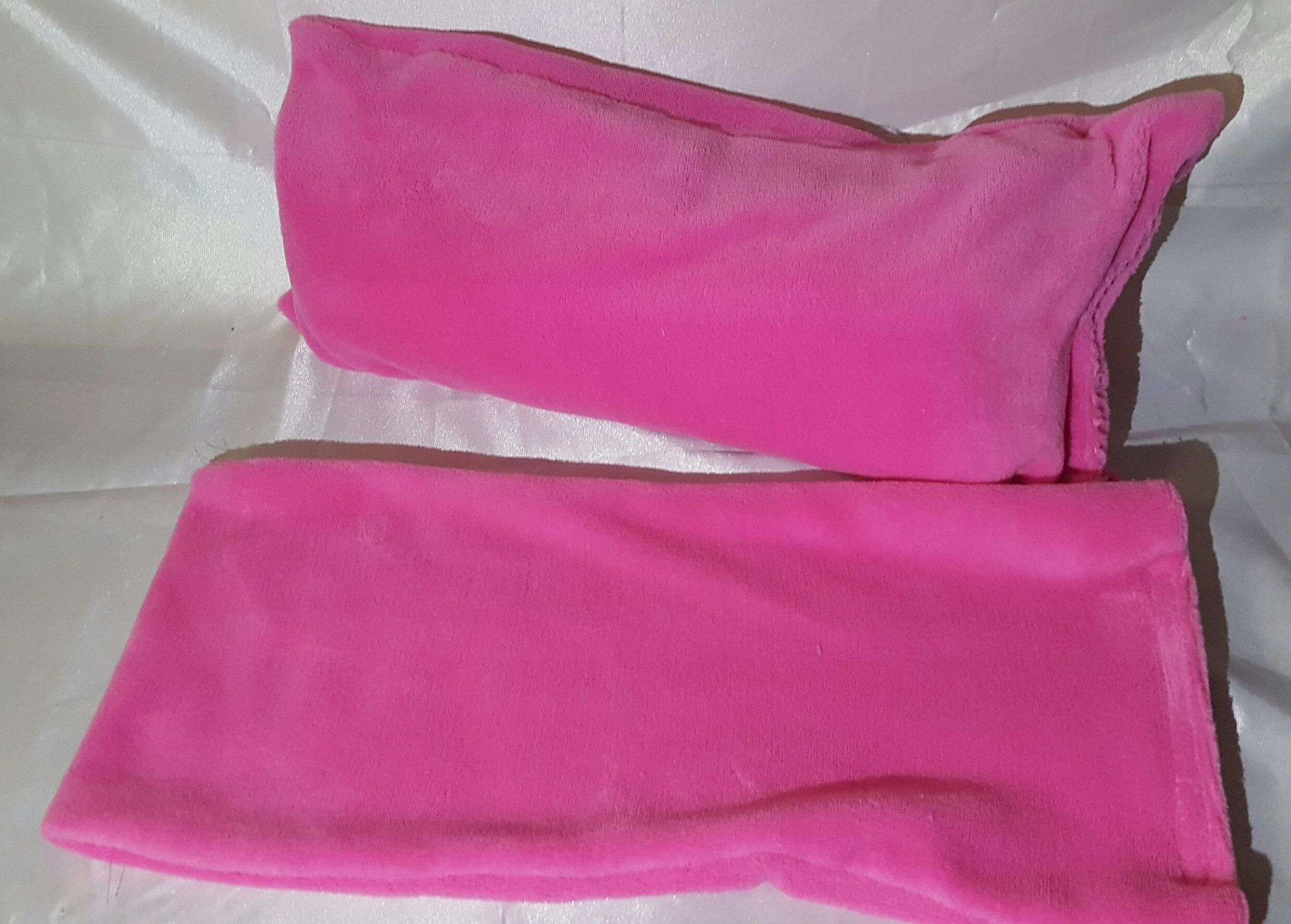 Handmade bath pillow case (only) no internal towel with suction cups ...