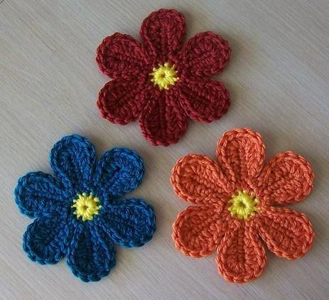 Free Flower Pattern On Crochetvilles Social Community Message Board