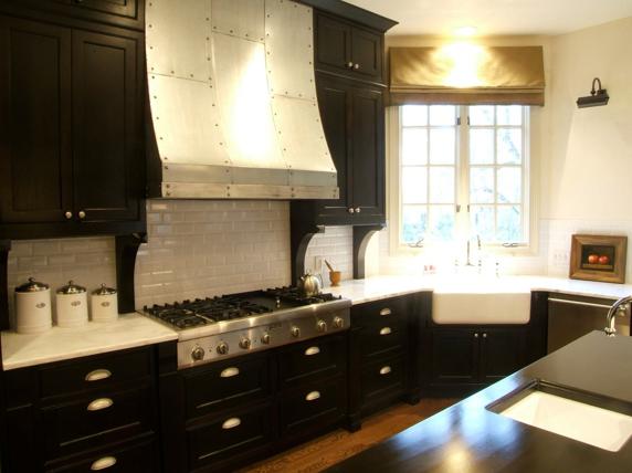 30 Amazing Design Ideas For A Kitchen Backsplash: Amazing Kitchen Design With Espresso Stained Kitchen