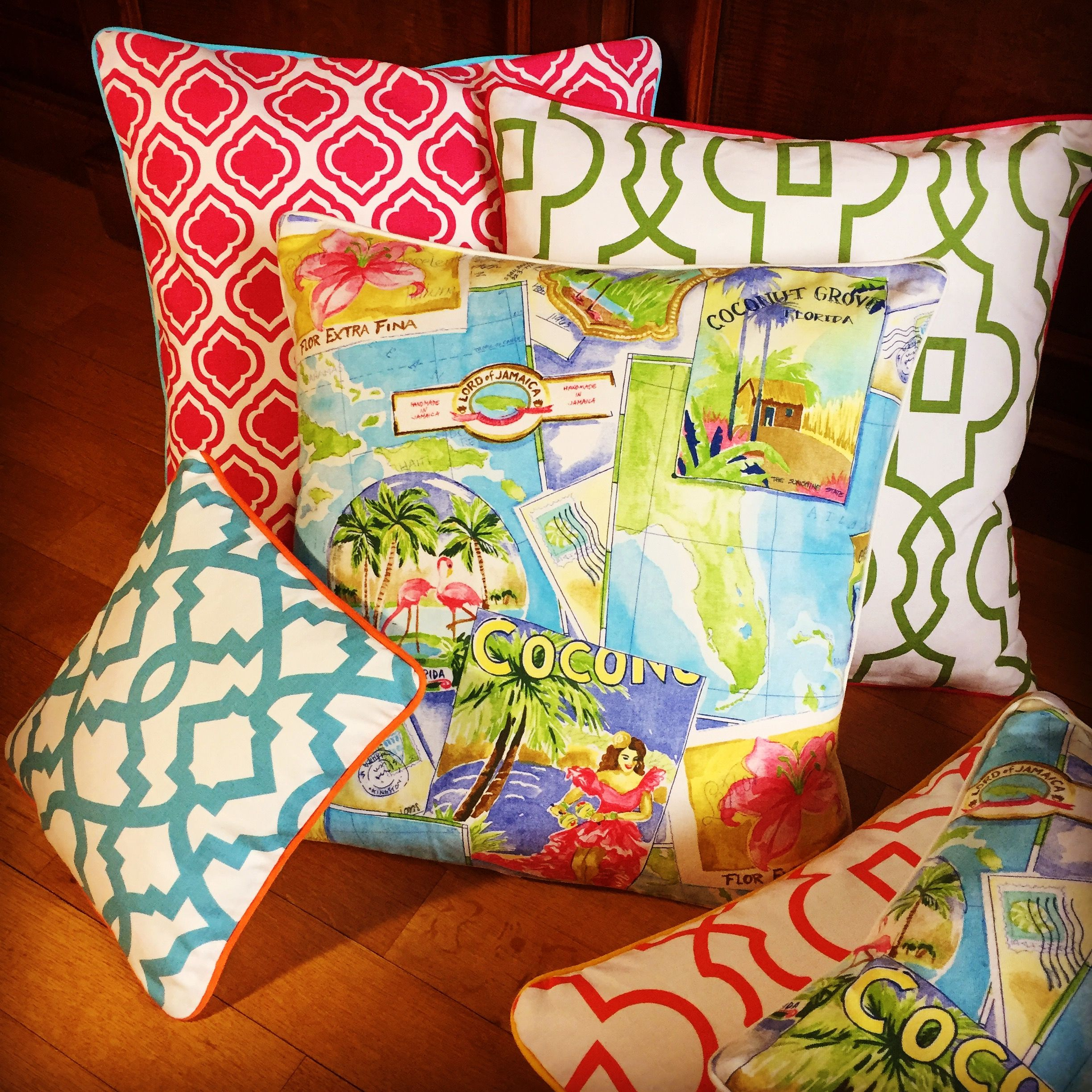 Sunshine pillows its still cold outside cheer up your home with sunshine pillows its still cold outside cheer up your home with greetings from florida kristyandbryce Image collections