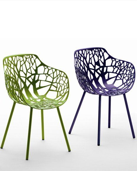 Fast Sedie Da Giardino.Forest Chair With Armrests By Fast Design Francesca Petricich