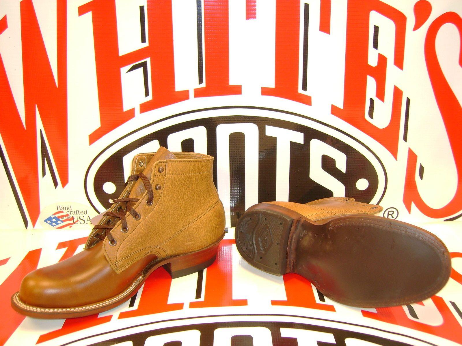 Whites Boots Semi Dress Brown 5 Top Size 10 D White Boots Boots Semi Dresses [ 1200 x 1600 Pixel ]