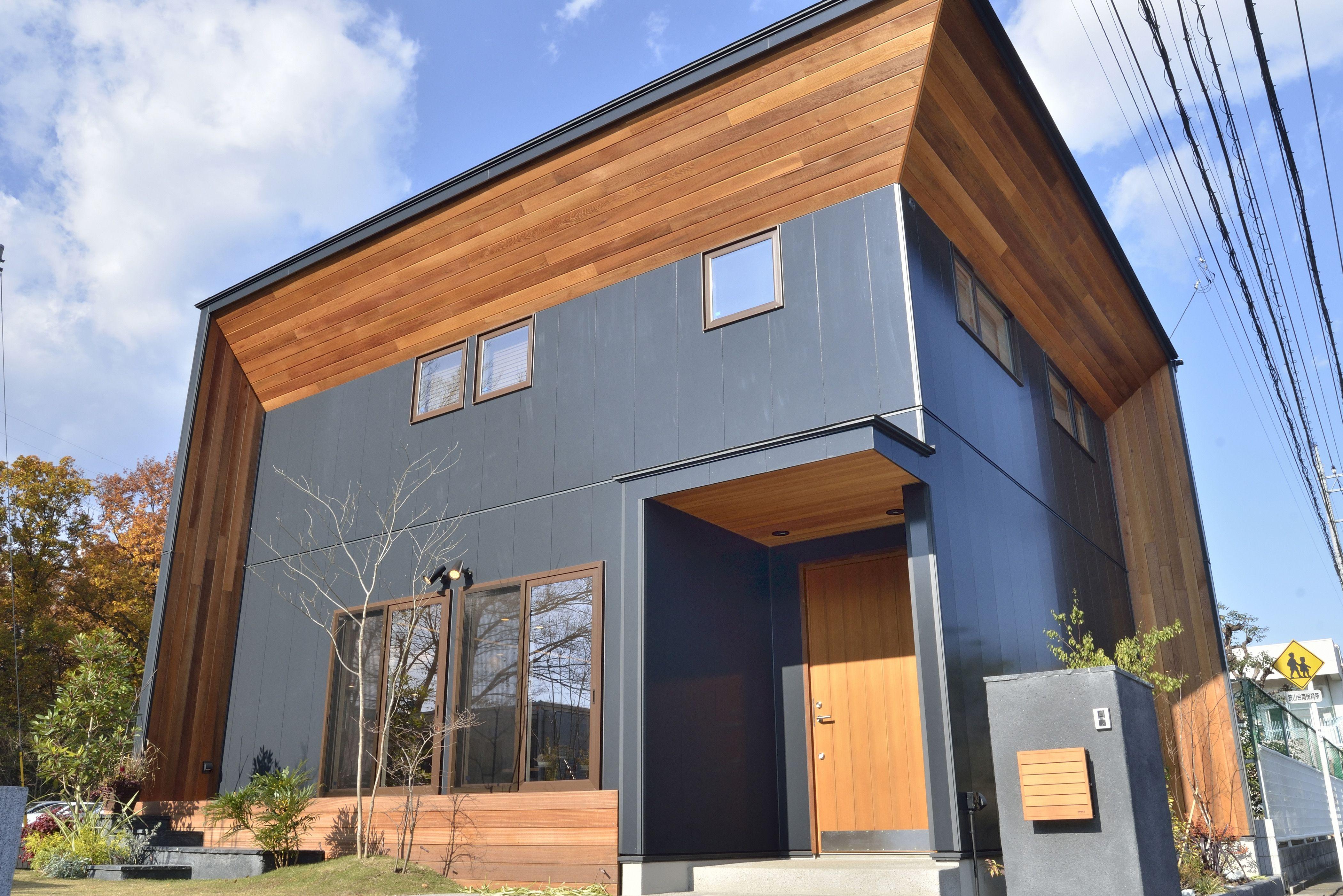 建築家の意匠性 高気密 高断熱 ホームウェア 住宅 住宅 外観