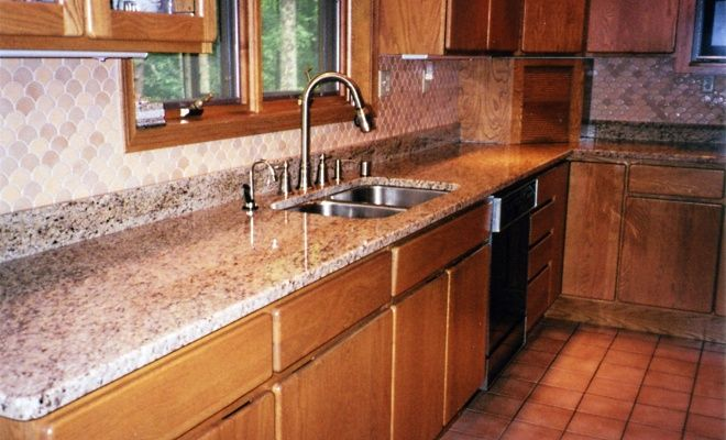 Kitchen Backsplash With Granite Countertops granite countertops and backsplash pictures