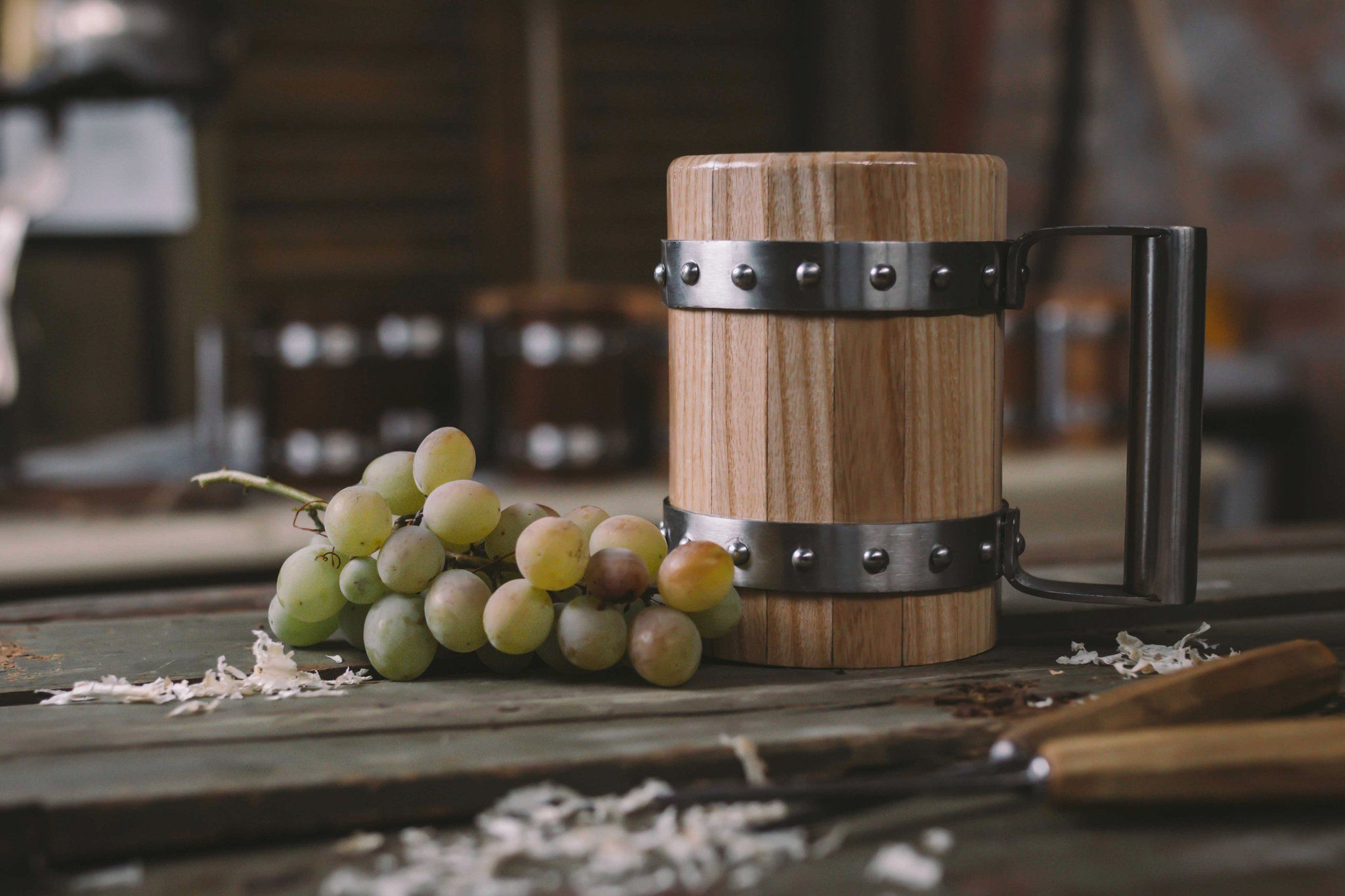 Wooden Beer Mug/ Tankard -Ash wood! Food safe coating   Mugs