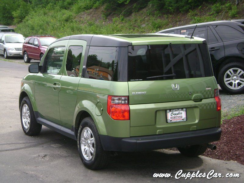 2007 honda element ex p 4wd kiwi green for sale in laconia. Black Bedroom Furniture Sets. Home Design Ideas