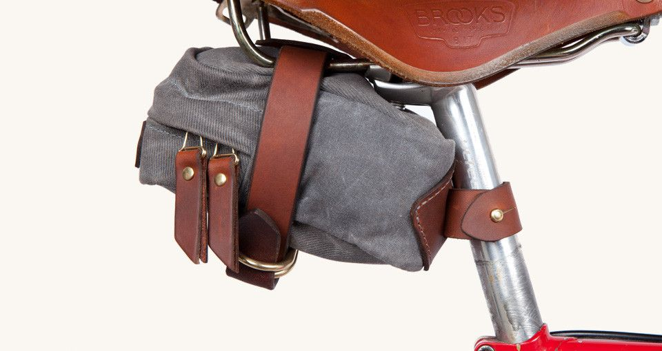 Tanner Goods Saddle Bag || via Cork Grips | bike | Pinterest ...