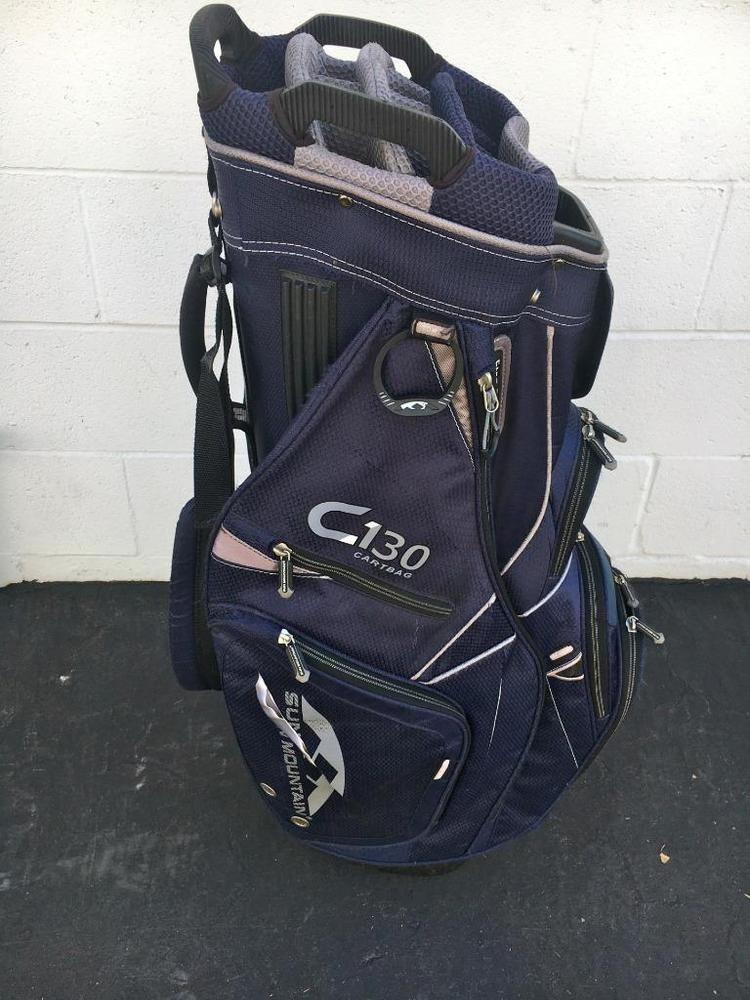 Sun Mountain 2016 C 130 Cart Golf Bag Golf Bag Padded Shoulder Straps Torn Sunmountain Modern Golf Bags Bags Bags For Sale Online