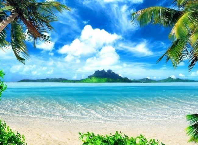 Hawaii Beach Backdrop Beach Background Beach Wallpaper Beautiful hawaii desktop wallpaper