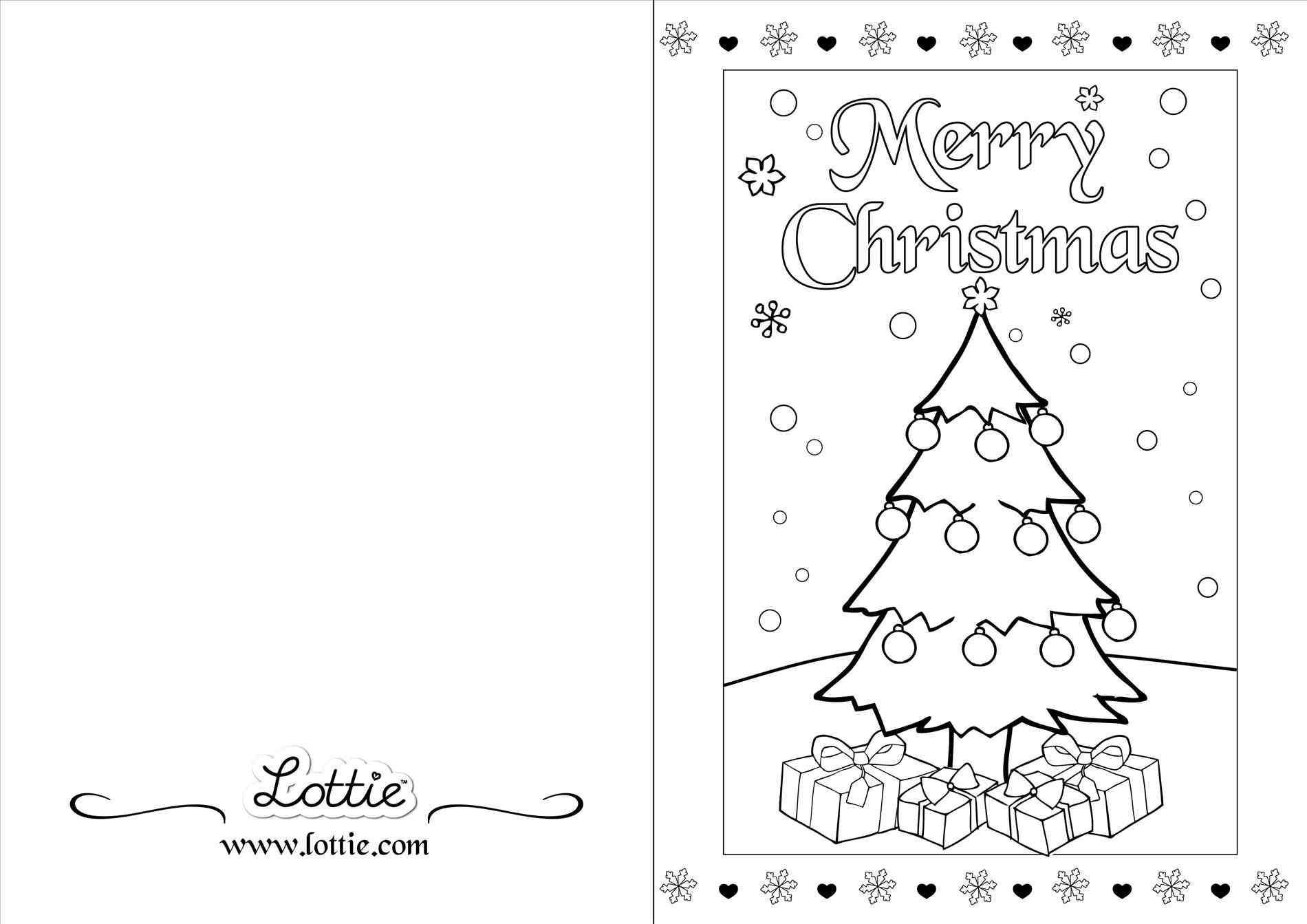 Christmas Card Templates Black And White With Images
