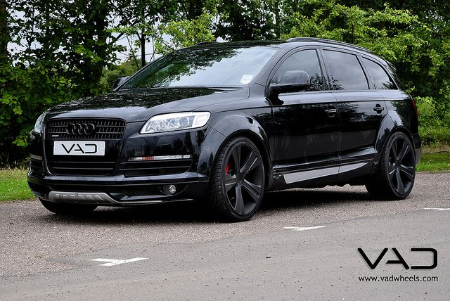 Vad Audi Abt Q7 Fitted With 22 Inch Vogue Evo Audi Q7 Audi Audi Cars