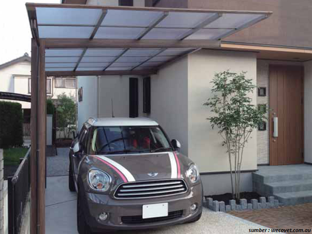 Model Garasi Mobil Rumah Minimalis Terbaru (Dengan gambar