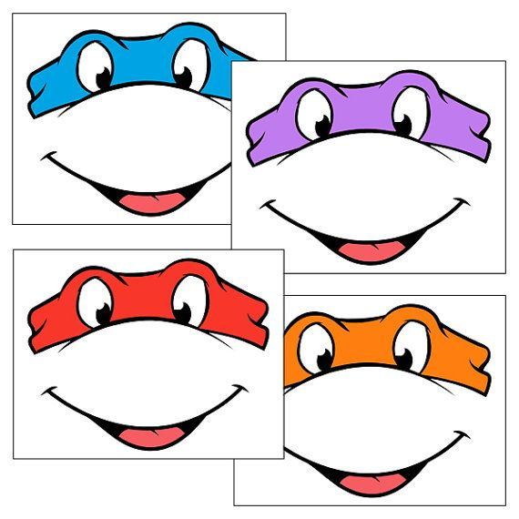 Descarga inmediata - ojos de las Tortugas Ninja con boca - globo ...