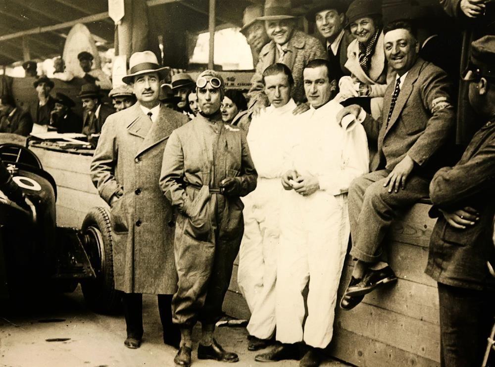 Tazio Nuvolari and Enzo Ferrari . . . In their Prime !