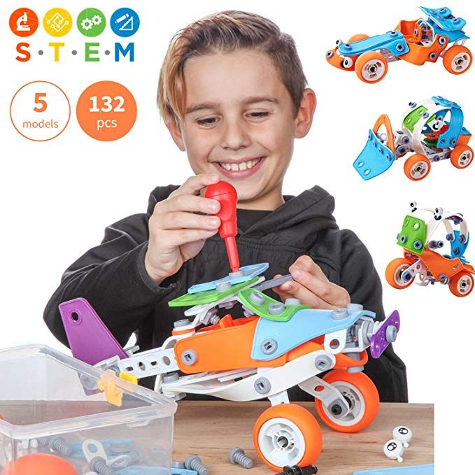 Toy Pal Educational 5-in-1 Build & Play STEM Toys for Boys ...